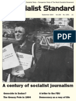 Socialist Standard - Magazine Centenary Issue