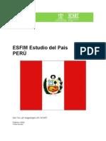 Peru - ESFIM Estudio de Pais