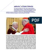 The Prophecies of Saint Malachy
