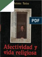 afectividad y vida religiosa LIBRO VARIOS AUTORES .pdf