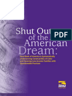 Shut Out of the American Dream