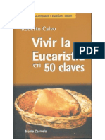 96448699 Vivir La Eucaristia en 50 Claves Roberto Calvo
