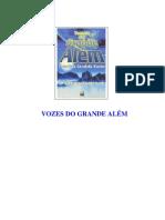 VOZES DO GRANDE ALÉM (psicografia Chico Xavier - espíritos diversos)