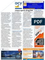 Pharmacy Daily for Tue 12 Feb 2013 - Pharmacy sports drug link, Alzheimer\'s, Novartis, ACP and much more
