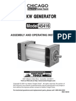 Stand Alone Belt Drive Generator