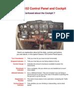 Cessna 152 Control Panel