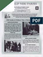 Bulletin for February 9-10, 2013