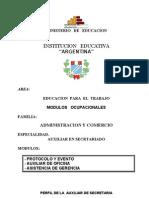 EPT Secretariado Modulo CALLO