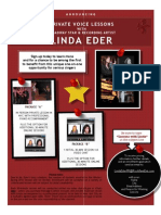 Voice Lessons with Linda Eder