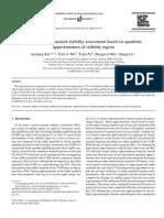 Power system transient stability assessment based on quadrat.pdf