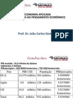 Aula 1 - A Economia Brasileira