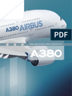 A380 New Generation New Experience Leaflet