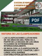 Clasificacion Geomecanica de Los Macizos