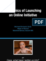 Ehrhardt Oesis Mechanics of Online Ed