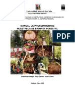 Manual Muestreo Biomasa Forestal
