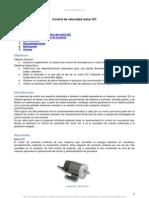 Control Velocidad Motor Dc