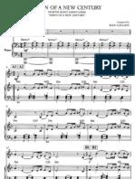 Dawn of a New Century Piano+Violin