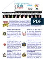 Tuesday - February 12, 2013 - ForeclosureGate Gazette