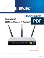 Tl-wa901nd User Guide