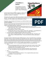 Capitalism Communism Socialism Debate