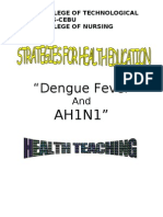 dengue  A(h1ni1) awareness