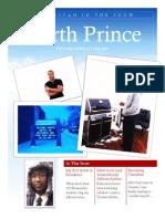 The Garth Prince Winter Newsletter 2013