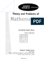 Theory and Problems of Mathematica