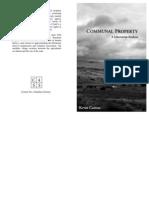 Kevin Carson - Communal Property