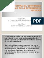 LECTURA.contenido Formativo de La Exp.escolar