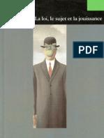 82679636 Lacan La Loi Le Sujet Et La Jouissance F Chaumon