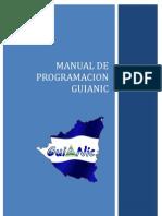 Manual Programador Guianic