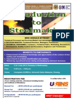 Introduction to Steelmaking July 2013