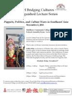 Puppets Politics & Culture Wars Asia