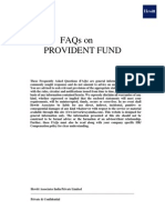 FAQs on PROVIDENT FUND