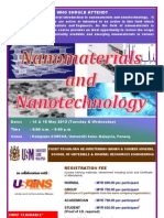 Nanomaterials & Nanotechnology Course May 2013