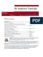 WRB Analysis Tutorials 010613_v2.3