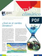 Folleto preliminar educativo sobre cambio climático