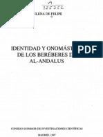 Identidad y Onomastica de Los Berberes