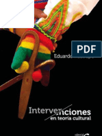 Restrepo - Intervenciones en Teoria Cultural