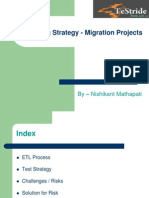 03 Nishikant ETL Testing Strategy - Migration Project