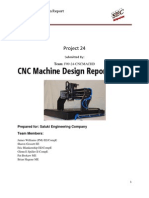 CNC Machine Design Report
