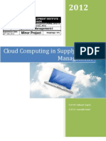 Cloud Computing in Supply Chain Management