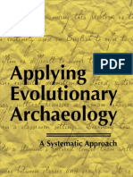 Applying Evolutionary Archaeology (O'Brien & Lyman)