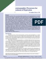 Neurotransmitter Precursors