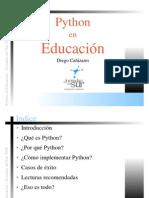Python en Educacion