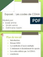 Les Codes de CDMA