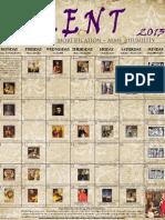 2013 Lenten Calendar - Old Vintage