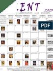 2013 Lenten Calendar - EO White