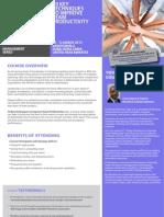 10 Key Techniques to Improve Team Productivity 10 - 12 March 2013 Dubai, UAE