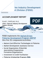 BFAR-FIDSD Accomplishments 2012